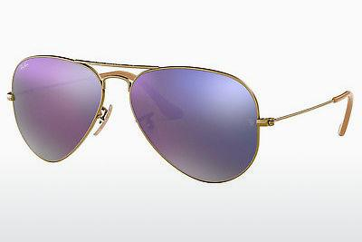 Lunettes de soleil Ray-Ban AVIATOR LARGE METAL (RB3025 167/4K) - Brunes, Bronze