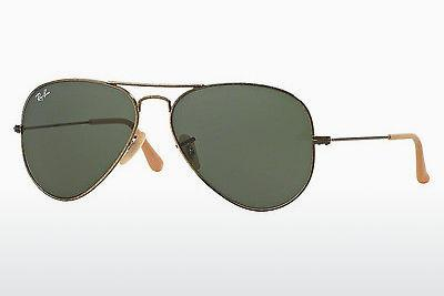 Lunettes de soleil Ray-Ban AVIATOR LARGE METAL (RB3025 177) - Or