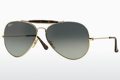 Lunettes de soleil Ray-Ban OUTDOORSMAN II (RB3029 181/71) - Or