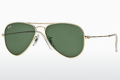 Lunettes de soleil Ray-Ban AVIATOR SMALL METAL (RB3044 L0207) - Or