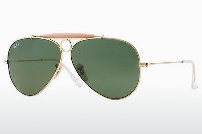 Lunettes de soleil Ray-Ban SHOOTER (RB3138 001) - Or