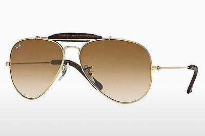 Lunettes de soleil Ray-Ban AVIATOR CRAFT (RB3422Q 001/51) - Or