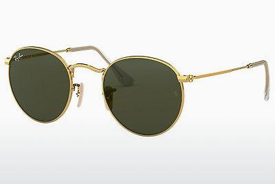 Lunettes de soleil Ray-Ban ROUND METAL (RB3447 001) - Or