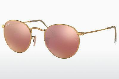 Lunettes de soleil Ray-Ban ROUND METAL (RB3447 112/Z2) - Or