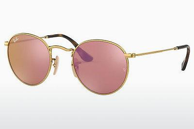 Lunettes de soleil Ray-Ban ROUND METAL (RB3447N 001/Z2) - Or