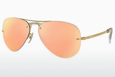 Lunettes de soleil Ray-Ban RB3449 001/2Y - Or