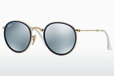 Lunettes de soleil Ray-Ban ROUND (RB3517 001/30) - Or