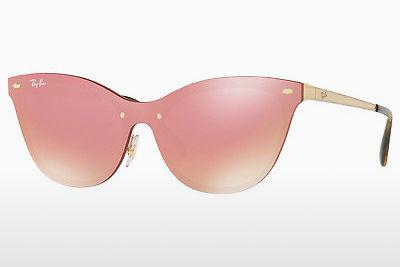 Lunettes de soleil Ray-Ban RB3580N 043/E4 - Rose, Or