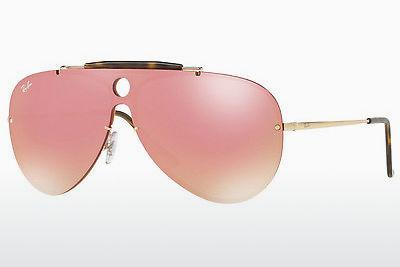 Lunettes de soleil Ray-Ban RB3581N 001/E4 - Or