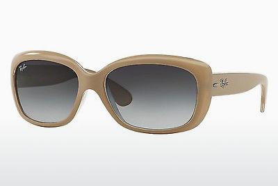 Lunettes de soleil Ray-Ban JACKIE OHH (RB4101 61728G) - Blanches, Transparentes