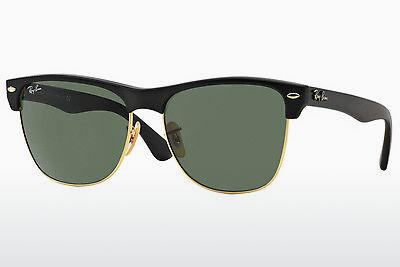 Lunettes de soleil Ray-Ban CLUBMASTER OVERSIZED (RB4175 877) - Noires, Or