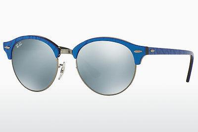 Lunettes de soleil Ray-Ban Clubround (RB4246 984/30) - Bleues