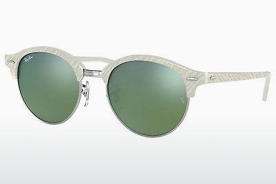 Lunettes de soleil Ray-Ban RB4246 988/2X - Blanches