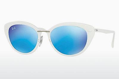 Lunettes de soleil Ray-Ban RB4250 671/55 - Blanches
