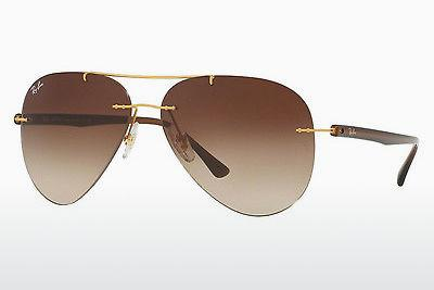 Lunettes de soleil Ray-Ban RB8058 157/13 - Or