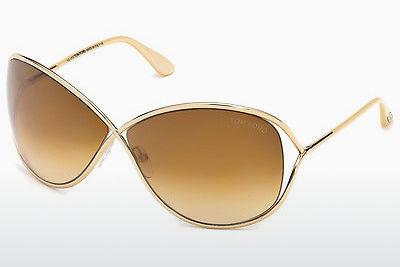 Lunettes de soleil Tom Ford Miranda (FT0130 28F) - Or