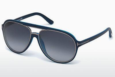 Lunettes de soleil Tom Ford Sergio (FT0379 89W) - Bleues, Turquoise
