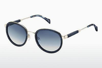 Lunettes de soleil Tommy Hilfiger TH 1307/S T8D/IT - Bleues, Or