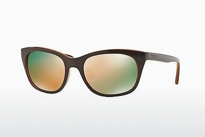 Lunettes de soleil Vogue VO2743S 2279R5 - Brunes, Transparentes, Orange