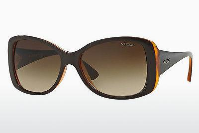 Lunettes de soleil Vogue VO2843S 227913 - Brunes, Orange, Transparentes
