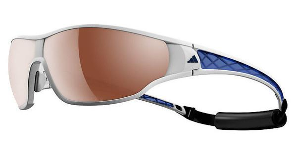 Adidas A190 6056 LST polarized silver H+white/blue