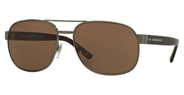 Burberry BE3083 10085W DARK BROWNBRUSHED GUNMETAL
