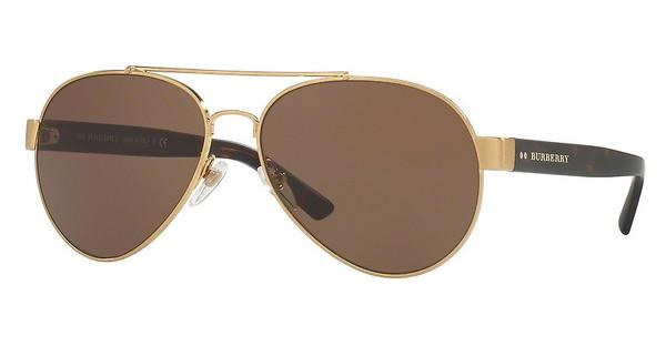 Burberry BE3086 10525W DARK BROWNBRUSHED GOLD