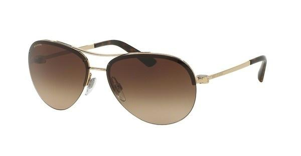 Bvlgari BV6081 278/13 BROWN GRADIENTPALE GOLD