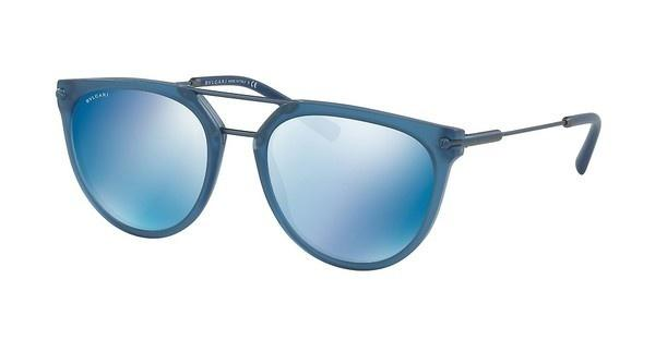 Bvlgari BV7029 541055 DARK BLUE MIRROR BLUEMATTE BLUE