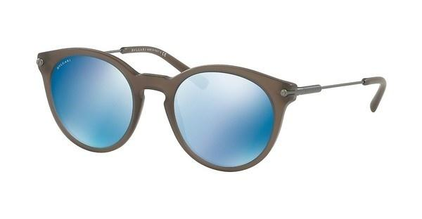 Bvlgari BV7030 526255 DARK BLUE MIRROR BLUEMATTE TURTLEDOVE GREY
