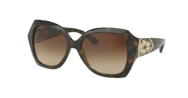 bvlgari lunettes de soleil femme prix,Prix raisonnable Femme Havane Or  Cristal Teinte Marron Strass aux tempes ... 237b28de67f7