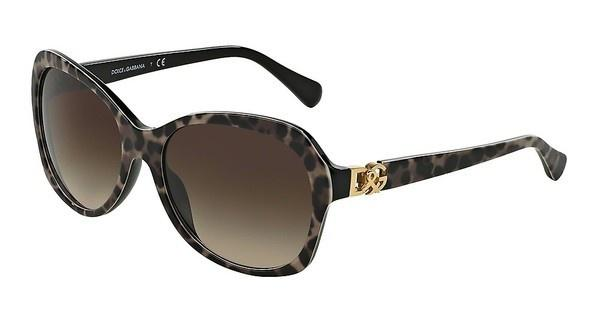 Dolce & Gabbana DG4163P 199513 BROWN GRADIENTLEOPARD