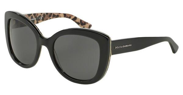 Dolce & Gabbana DG4233 285787 GREYTOP BLACK ON LEO