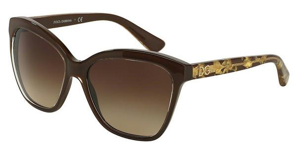 Dolce & Gabbana   DG4251 291813 BROWN GRADIENTCRYSTAL ON BROWN