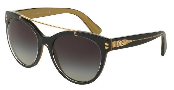 Dolce & Gabbana DG4280 29558G GREY GRADIENTTOP BLACK ON GOLD