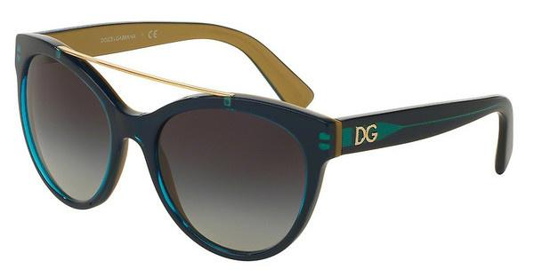Dolce & Gabbana DG4280 29588G GREY GRADIENTTOP PETROLEUM ON GOLD