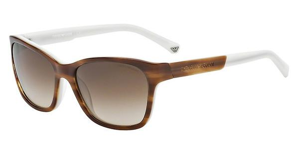 Emporio Armani EA4004 504713 BROWN GRADIENTSTRIPED BROWN/CREAM