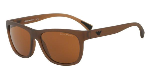 Emporio Armani EA4081 553373 BROWNMATTE TRANSPARENT BROWN