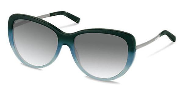 Jil Sander J3002 B sun protect - smokx grey gradient - 68%Blue Green