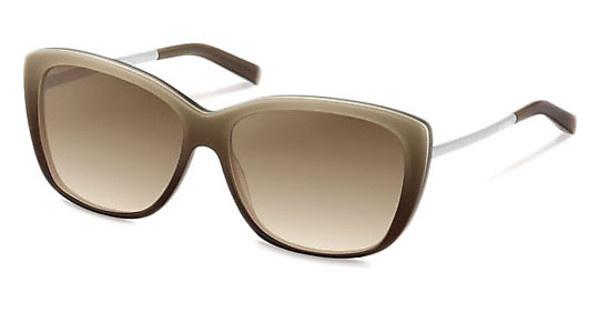 Jil Sander J3003 D sun protect brown gradient - 77%Light Chocolate Gradient