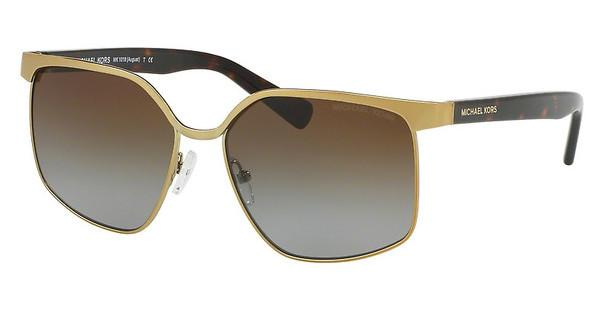 Michael Kors MK1018 1145T5 BROWN GRADIENT POLARIZEDPALE GOLD/DK TORTOISE