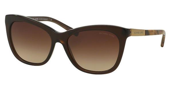 Michael Kors MK2020 311613 SMOKE GRADIENTDK BROWN TIGERS EYE