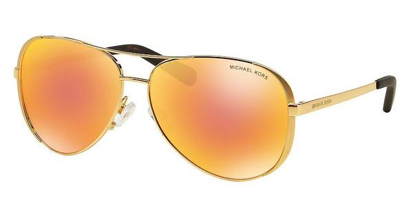 Michael Kors MK5004 1024F6 ORANGE FLASHGOLD-TONE