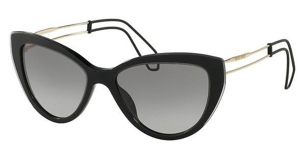 Miu Miu MU 12RS U6F3M1 GREY GRADIENTBLACK/GREY TRANSPARENT