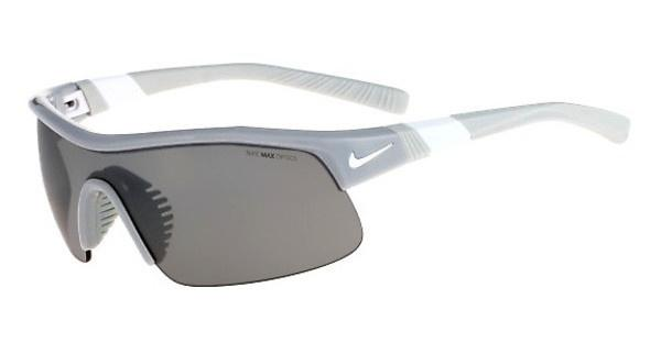 Nike SHOW X1 EV0617 010 WOLF GREY/WHITE WITH GREY W/SILVER FLASH /OUTDOOR TINT LE LENS