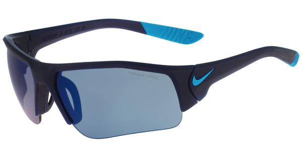 Nike SKYLON ACE XV JR EV0900 400 MATTE MIDNIGHT NAVY/BLUE LAGOON WITH GREY W/BLUE SKY FLASH LENS LENS