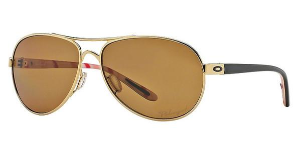 Oakley OO4079 407908 BRONZE POLARIZEDPOLISHED GOLD