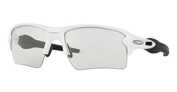Oakley OO9188 918851 CLEAR TO BLACK PHOTOCHROMICPOLISHED WHITE