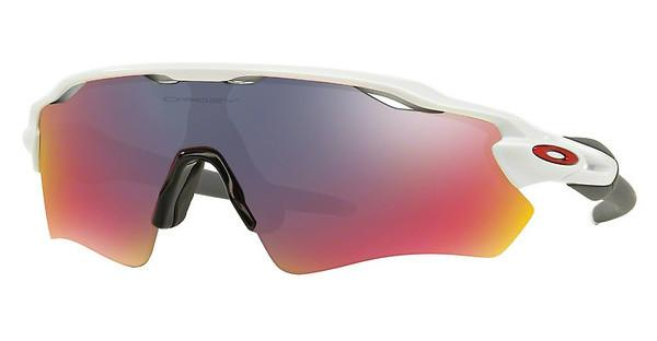 Oakley OO9208 920818 POSITIVE RED IRIDIUMPOLISHED WHITE