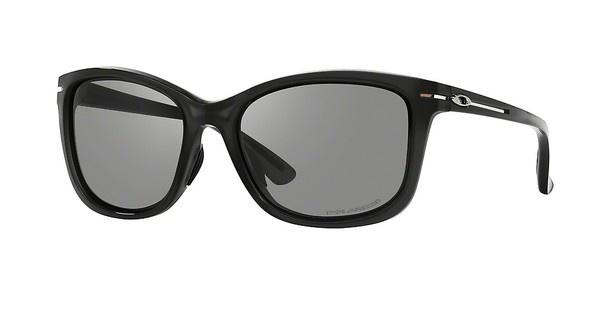 Oakley OO9232 923201 GREY GRAD POLARPOLISHED BLACK